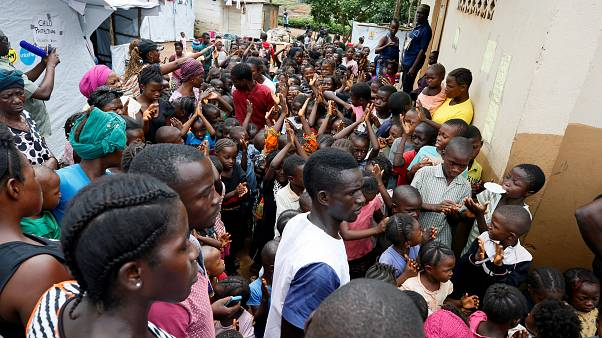 Sierra Leone mudslide survivors at risk of disease