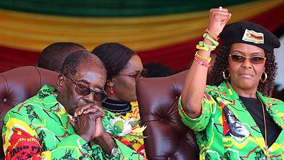 Grace Mugabe de retour au Zimbabwé
