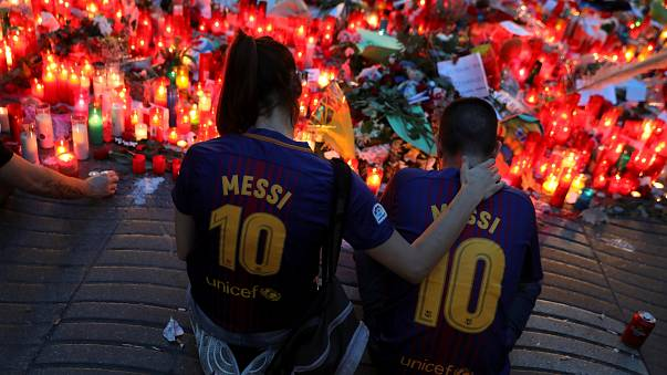 Misa solemne en Barcelona en honor a las víctimas de los atentados