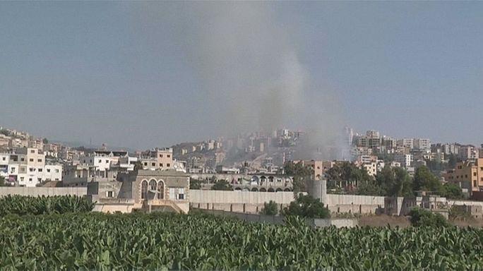 Zusammenstöße in palästinensischem Flüchtlingslager