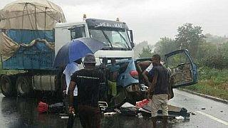 Cameroun : 20 personnes perdent la vie dans un accident de la route