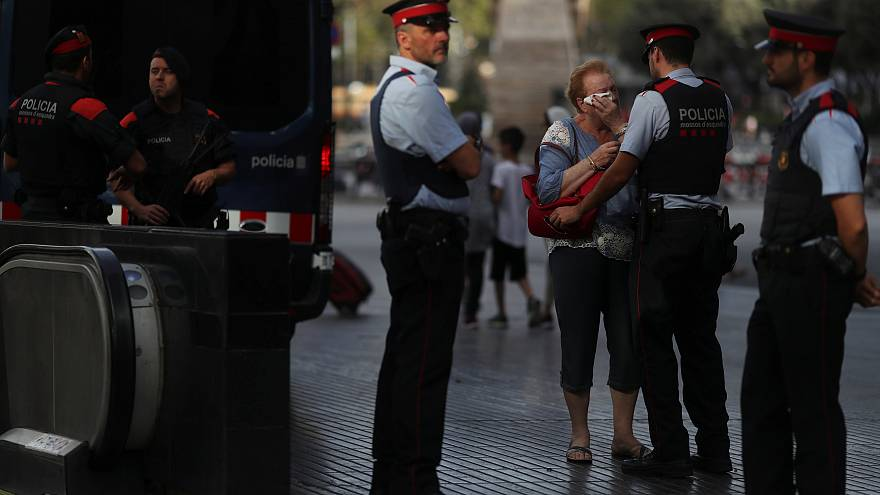Барселона: в фургоне был один человек