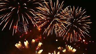 Tűzijáték verseny Moszkvában