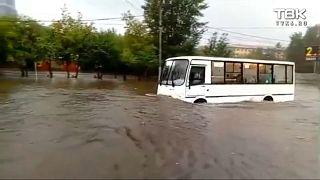 В Красноярске объявлена ЧС