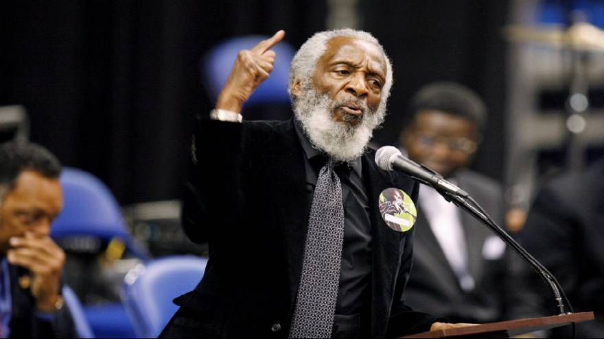 US comic and civil rights activist Dick Gregory dies at 84