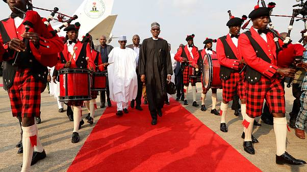Nigeria's Buhari returns home after extended medical stay
