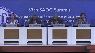 Afrique du Sud : le 37 e sommet de la SADC axé sur l'agenda 2063 de l'Union africaine