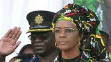 Botrány: hazatérhetett Mugabe verekedő felesége