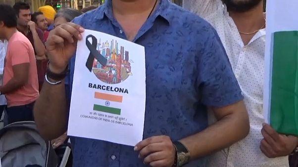 Barcelona: Indische Gemeinde gedenkt Terror-Opfern