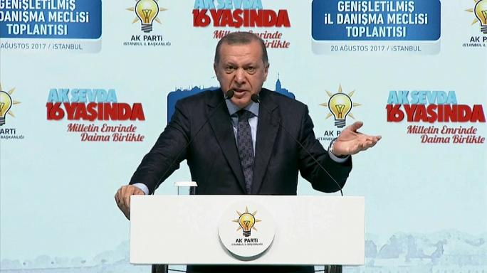 Erdoğan: Türkiye düşmanı partilere oy vermeyin