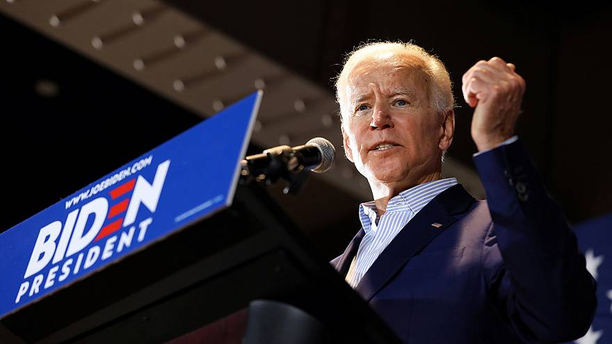 Image: 2020 Democratic U.S. presidential candidate and former Vice Presiden