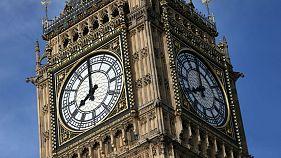 Chiming out: London landmark Big Ben falls silent ahead of repairs