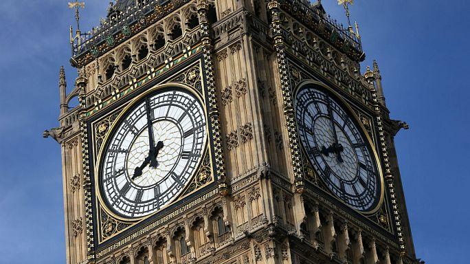 O toque final do Big Ben