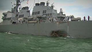 Accident maritime : dix 'marines' toujours portés disparus