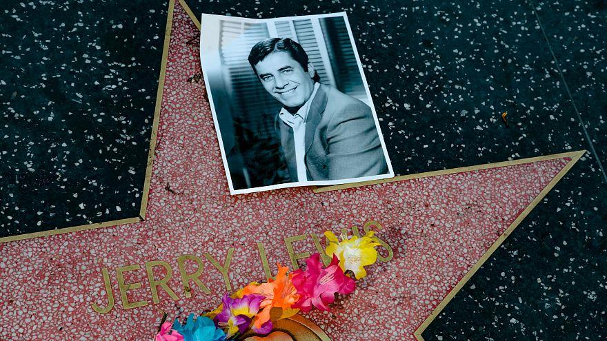 Homenagem a Jerry Lewis no Passeio da Fama