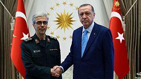 اردوغان: همکاری نظامی مشترک ایران و ترکیه علیه شورشیان کرد در دستور کار است