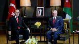 أردوغان في زيارة رسمية للأردن