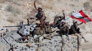 الجيش اللبناني يستعيد ثمانين كيلومترا من قبضة داعش في ثاني يوم من معركة فجر الجرود