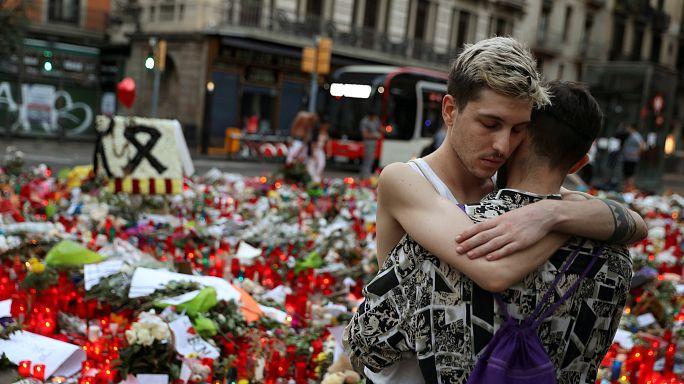 Barselona terör mağdurlarını unutmuyor
