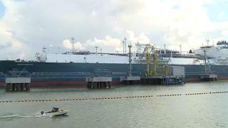 Amerikai gáz érkezett Litvániába