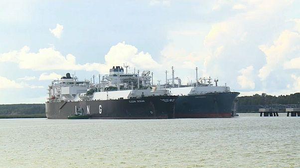 Литва приняла американский газ