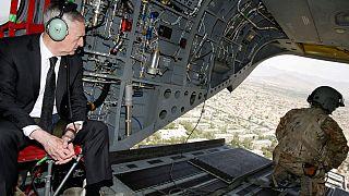 وزیر دفاع آمریکا در روزهای نخست عملیات تلعفر وارد بغداد شد