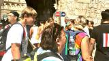 Dubrovnik residents use TV to decide when to go out: The dark side of tourism