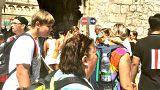 La cara oscura del turismo: en Dubrovnik ven la TV para saber cuándo salir a la calle