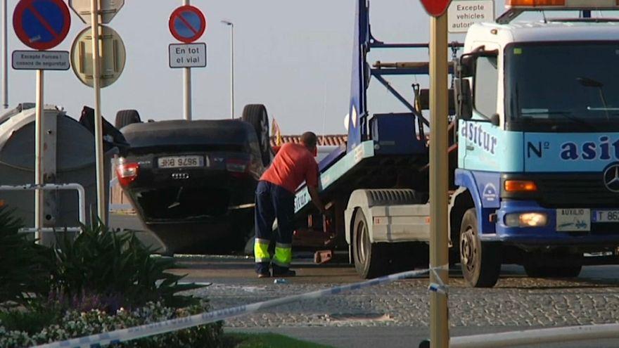 El coche utilizado en el atentado de Cambrils fue visto en París