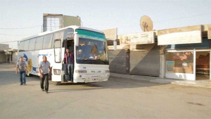 Los civiles, los más castigados por los combates en Raqa