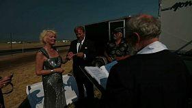 أمريكيان يعقدان قرانهما في ولاية أوريغون أثناء الكسوف الكلي للشمس