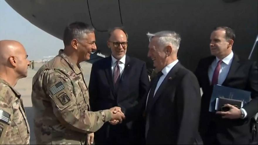 US-Verteidigungsminister Mattis in Bagdad