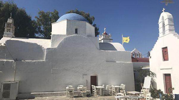 Half a day in Mykonos