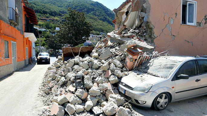 Italie : l'île d'Ischia frappée par un séisme