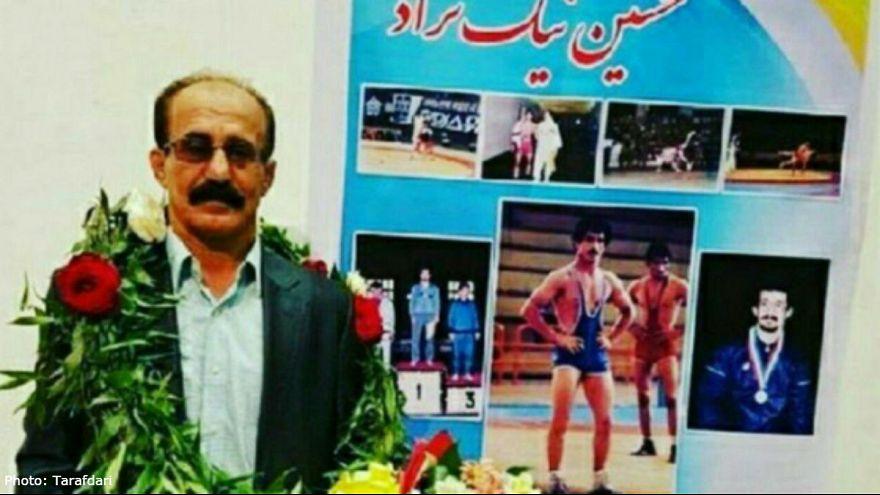 فوت کشتیگیر پیشکسوت گیلانی حین مسابقه در تبریز