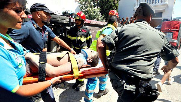 Örömteli pillanatok a mentésben a földrengés után