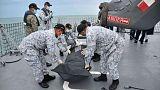 """Encontrados os corpos de """"alguns"""" marinheiros desaparecidos"""