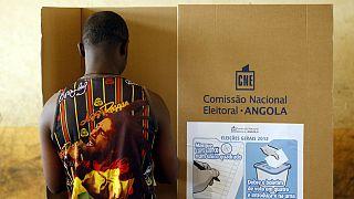 Angola devlet başkanlığı seçimi için sandık başında