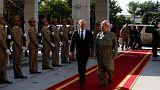 دیدار وزیر دفاع آمریکا با مسعود بارزانی در اربیل
