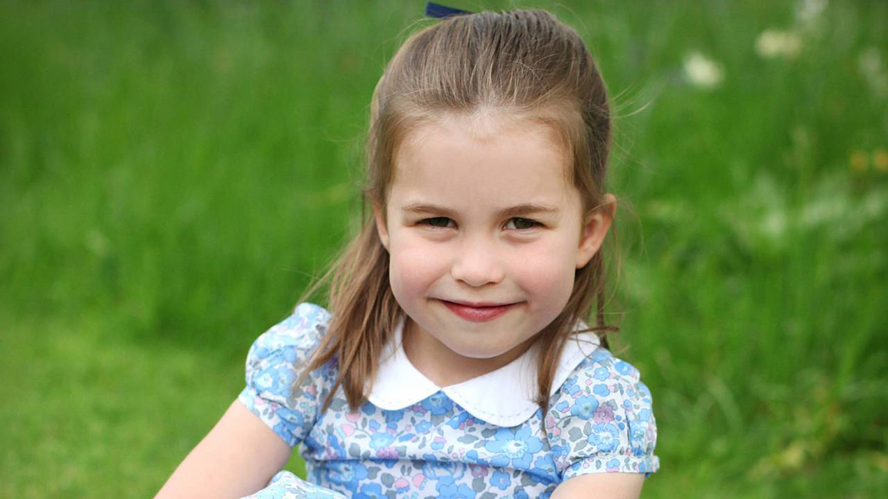 Image: Britain's Princess Charlotte poses ahead of fourth birthday in Londo