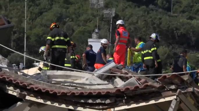 New pictures reveal earthquake damage on Ischia