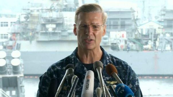 US-Admiral nach Unfallserie abgesetzt