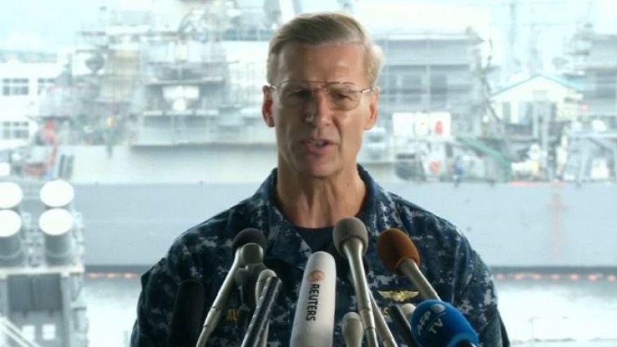 Marinha dos EUA afasta o comandante da  7.ª Esquadra do Pacífico