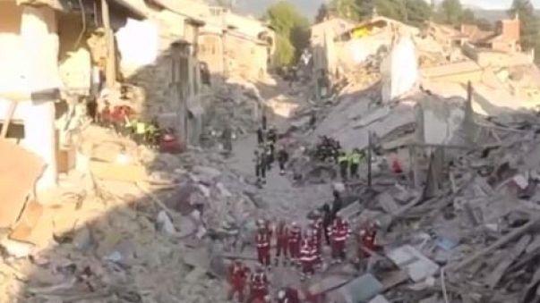 Amatrice in lutto un anno dopo il sisma