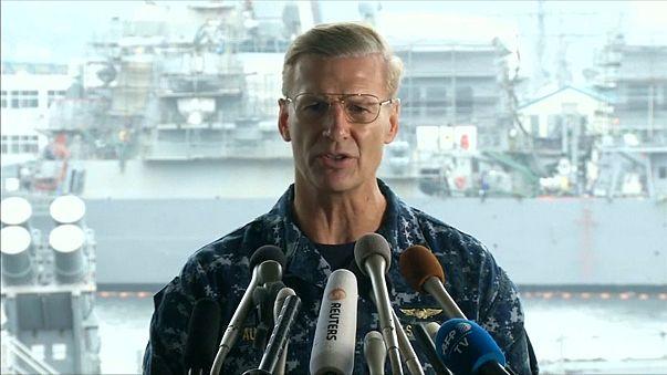 إقالة قائد الأسطول الأميركي السابع من منصبه بعد حوادث تصادم