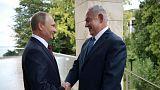نتانیاهو در دیدار با پوتین: حضور ایران در سوریه تهدید جهانی است