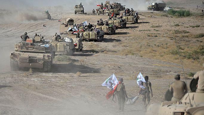 الجيش العراقي وحلفاؤه يدخلون تلعفر من عدة محاور
