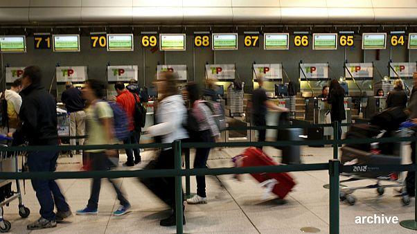 Sztrájk a portugál reptereken