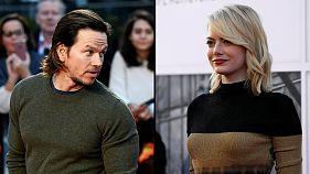 Mais bem pagos do cinema: Mark Wahlberg ganha mais do dobro de Emma Stone