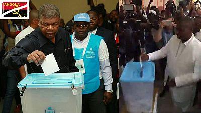 Angola - élections: le vote des principaux candidats